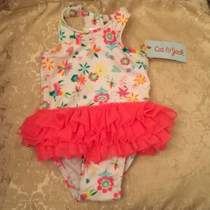 NWT Colorful swimsuit